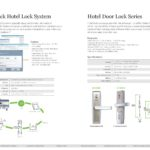 Access Control ระบบควบคุม อัตโนมัติ ระบบประตูโรงแรม ประตูคีย์การ์ด ระบบดูแลจัดการคีย์การ์ด Hotel Lock Software ZKTeco