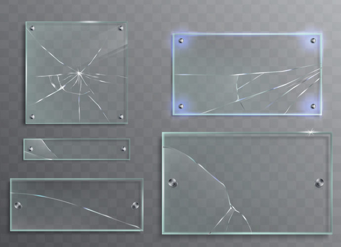 กระจกของประตูอัตโนมัติแตก กระจกเทมเปอร์แตกเอง เกิดจากอะไร