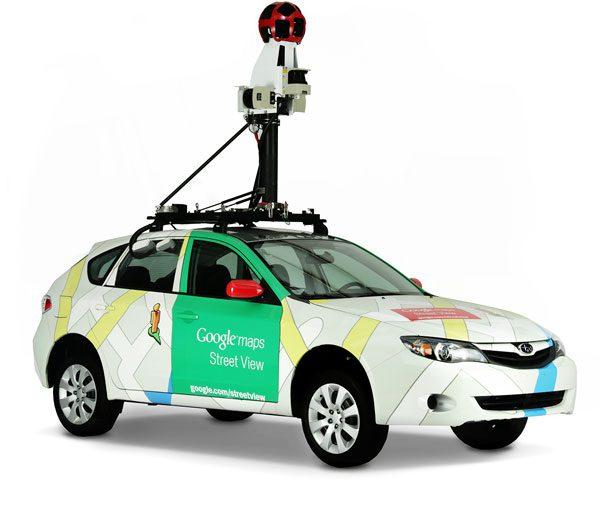 รถของ google ระบบติดตามรถยนต์พร้อมทั้งบันทึกภาพ