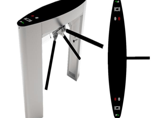 เครื่องกั้นสามขา,ประตูหมุนสามขา,ประตูสามขา,สามขาไฟฟ้า,เครื่องกั้นสามขาไฟฟ้า, Tripod,tripod turnstile,turnstile,ZK-TS5000A
