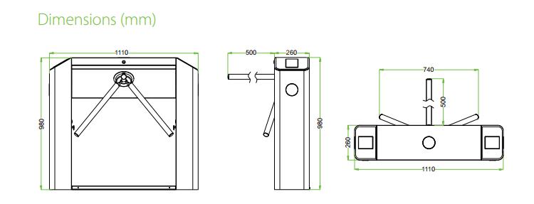 เครื่องกั้นสามขา,ประตูหมุนสามขา,ประตูสามขา,สามขาไฟฟ้า,เครื่องกั้นสามขาไฟฟ้า, Tripod,tripod turnstile,turnstile,ZK-TS2000