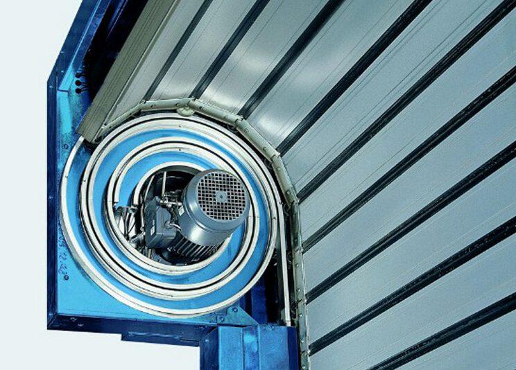 Aluminum Spiral High Speed Door