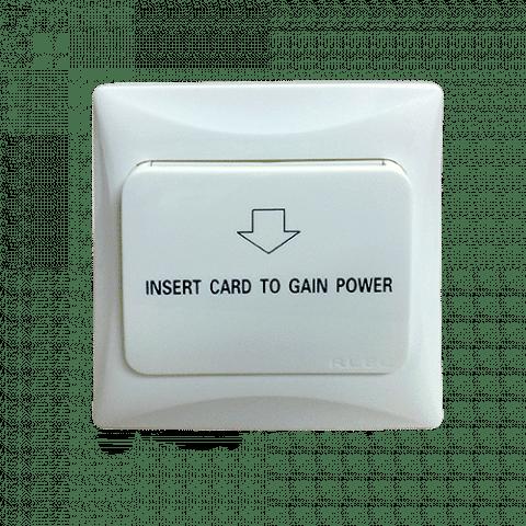สวิตซ์ตัดไฟของโรงแรม Energy Saving