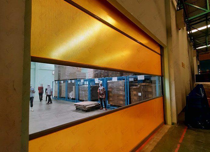 สยาม อโลเวล่า (2005),ประตูความเร็วสูง,ประตูพีวีซี,ประตู PVC ,ประตูม้วนผ้าใบความเร็วสูง,ประตูไฮสปีด