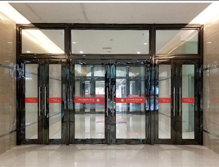 ประตูกันลม ระบบประตู 2 ชั้น ระบบ Interlock