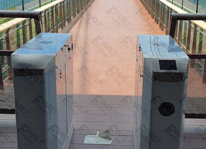 skywalk อัยเยอร์เวง เบตง เครื่องกั้นทาง เครื่องกั้นปีกผีเสื้อ ระบบจำกัดจำนวนคน Software Customize